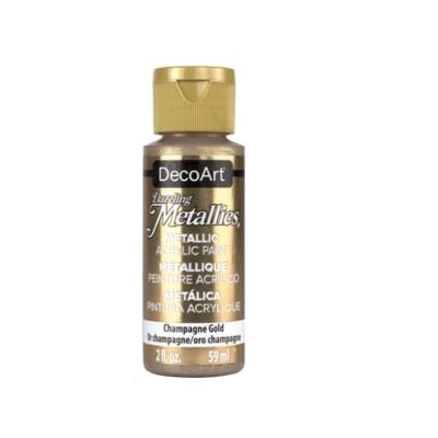 Americana Acrylic Metallic Paint - Champagne Gold