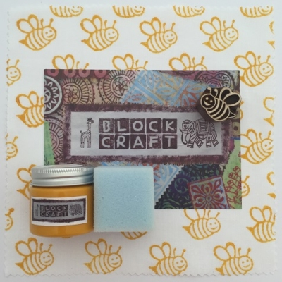 Indian Block Printing Kit- Smiling Bumble Bee