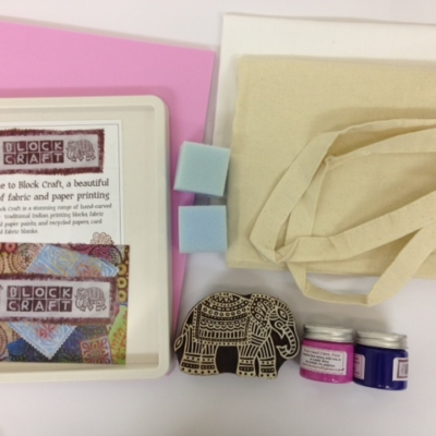 detailed elephant block craft starter kit