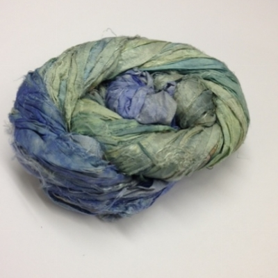 indian sari silk ribbons