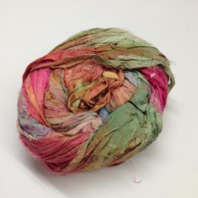 indian sari silk ribbons