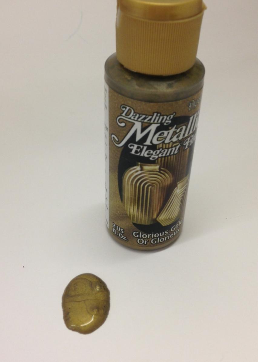 Metallic Paper Paint Glorious Gold 2oz Arty Crafty