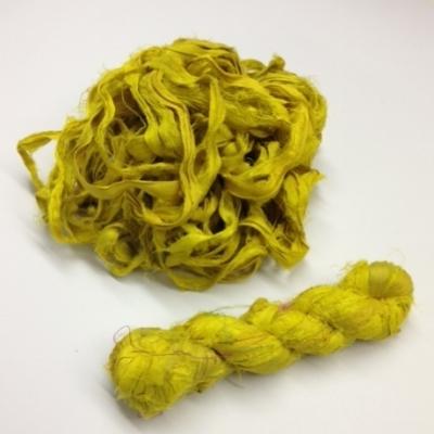 mustard sari ribbon