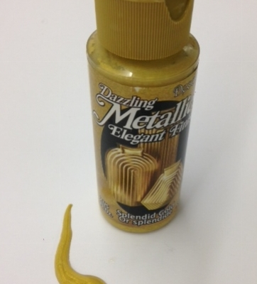 splendid gold decoart metallic paper paint
