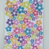 Indian Block Printed Tea Towel Multi-coloured Flower