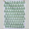 Indian Block Printed Tea Towel Leaf Design