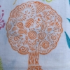 Indian Block Print Tree