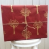 hand carved Indian wooden printing block- hand printed wrapping paper