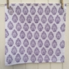 Hand block printed Indian fabric