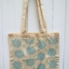 Tote Bag Printed With Indian Sunflower