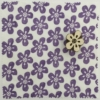 Indian Block Printed Fabric-Small Funky Daisy