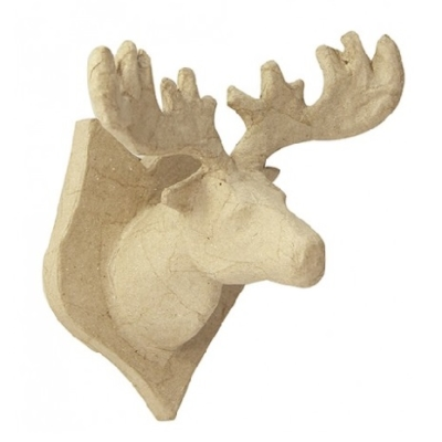 NO018 Decopatch small moose trophy