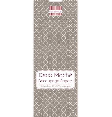 deco mache decoupage paper FEDEC117