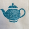 hand carved indian wooden printing blocks- hand printed fabric teapot design