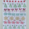 Indian Block Printed Christmas Tea Towel