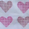 Indian Block Print Patchwork Heart
