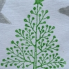 Indian Block Print Spotty Christmas Tree