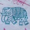 Indian Block Print Walking Elephant