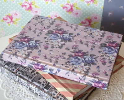 Deco mache floral Diaries