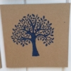 Hand Block Printed Card