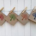Indian Wooden Printing Blocks- Hand Printed Cards
