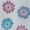 Indian Block Print Flower Textile Fabric Pen