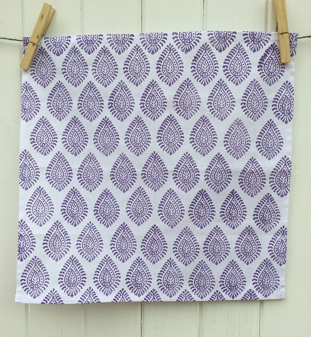 indian-block-print-napkins-paisley-design-purple