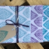 Indian Block Printed Napkins Paisley Design