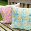 Block Printed Cushions for the Garden