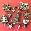 We Wish You A Merry Christmas Tree Printing Set