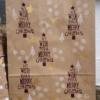 Indian Block Printed Christmas Gift Bag