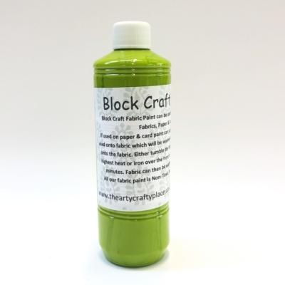 500ml Fabric Paint- Kiwi Green