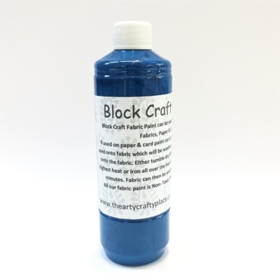 500ml Fabric Paint- Turquoise