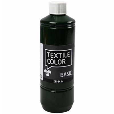 Block Craft 500ml bottle Olive Green fabric paint