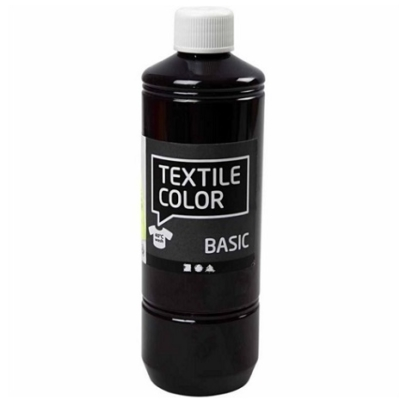 Block craft 500ml bottle of Dark Purple fabric paint