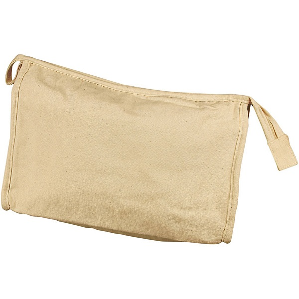 Blank wash bag for printing on