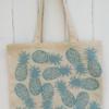 Block Printed Tote Bag