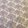 Walking Elephant Printed Wrapping Paper
