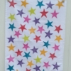 Indian Block Print Star Tea Towel