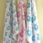 Hand Indian Block Printed Fabric Tea Towels