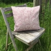 Indian Block Printed Seedhead Cushion Cover