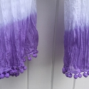 Dip Dyed Fabric Scarf