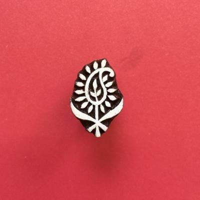 Mini Indian Printing Block-Paisley 3