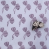 Block Printed Fabric- Double Tulip