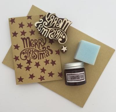 Christmas Block Printing Kit