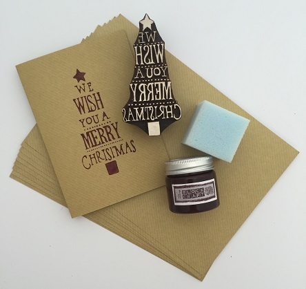 Christmas Block Printing Kit