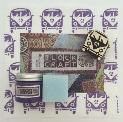 Indian Block Printing Kit