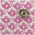 Indian Block Printing Kit- Dotty Heart Teapot