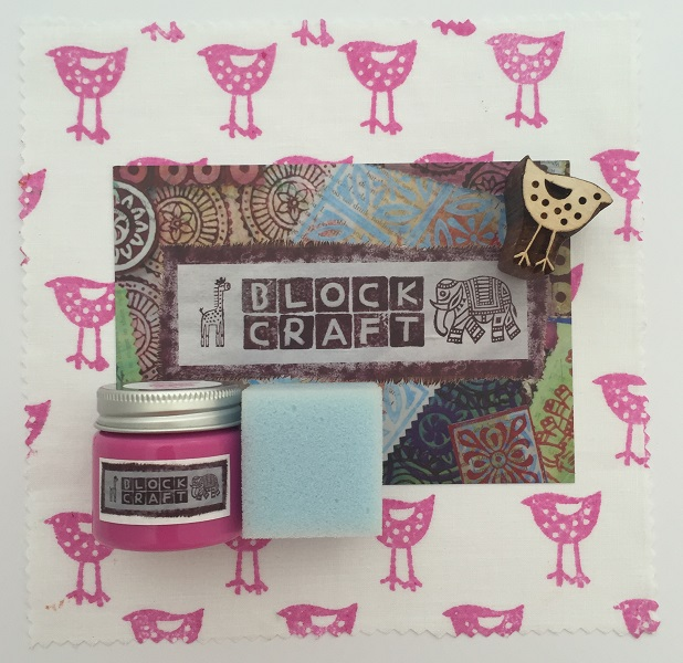 Indian Block Printing Kit- Mini Bird