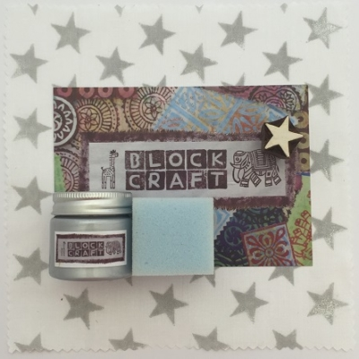 Hand Block Printing Kit- Star